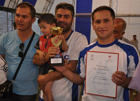 Hakkari turnuvasında final maçı oynandı 2