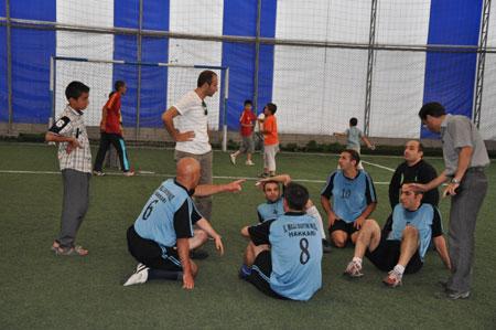 Hakkari turnuvasında final maçı oynandı 23