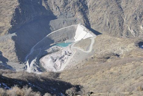 Baraj yapımında çalışan araçlar ateşe verildi 6