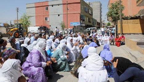 Diyarbakır'da polis ablukası 20