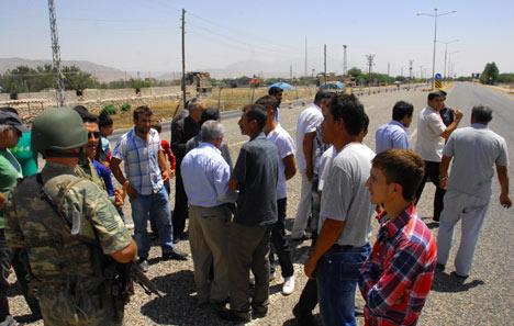 Diyarbakır'da polis ablukası 6