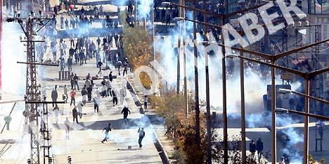 Hakkari'deki gerginlik fotoğrafları 43