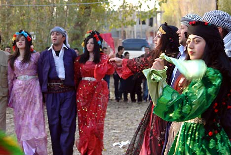 Otantik bir sonbahar düğünü 12