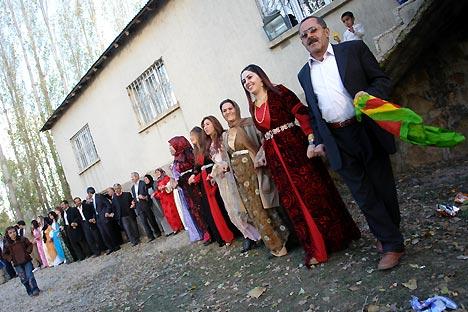 Otantik bir sonbahar düğünü 24