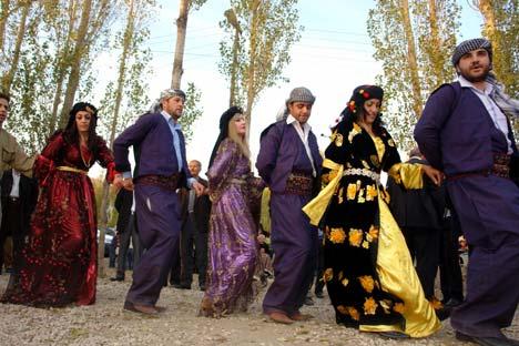 Otantik bir sonbahar düğünü 4