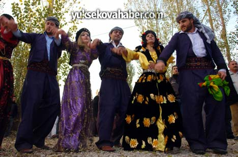 Otantik bir sonbahar düğünü 5