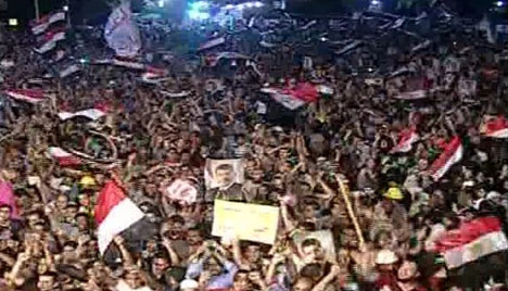 Binler Mursi için meydanlarda! 1