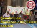 Şemdinli'de Ramazan Etkilnlikleri