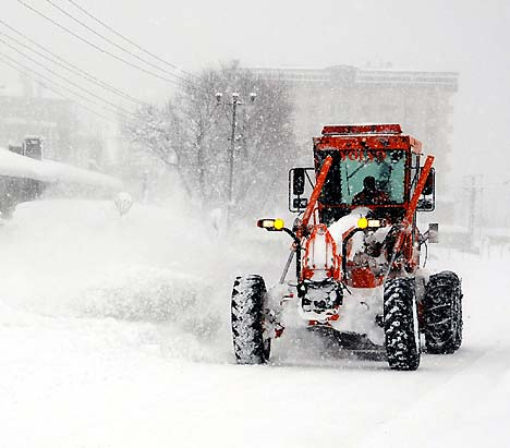 Yüksekova'da kar yağışı 9