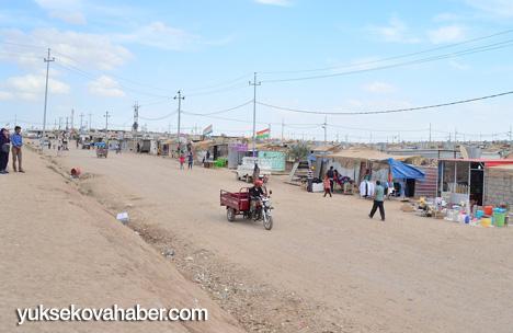 Rojava'nın misafirhanesi Domis Kampı 1