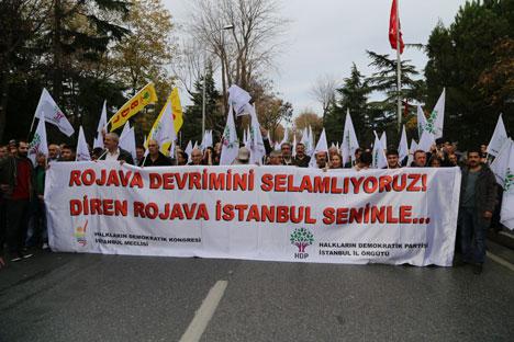 Diren Rojava İstanbul seninle 16