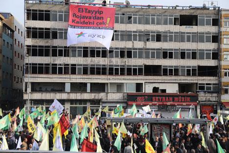 Diren Rojava İstanbul seninle 21