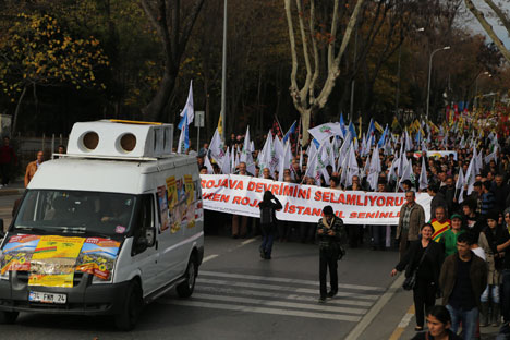 Diren Rojava İstanbul seninle 7