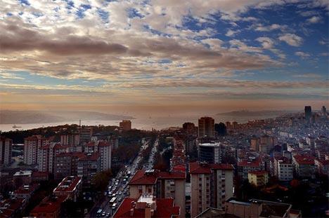 İstanbul'da sis manzaraları 1