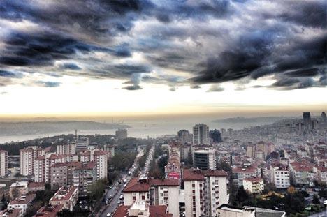 İstanbul'da sis manzaraları 10