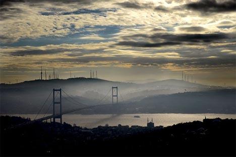 İstanbul'da sis manzaraları 3