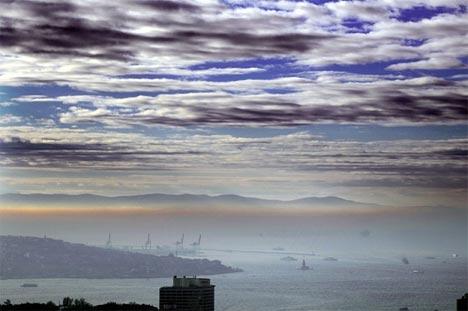 İstanbul'da sis manzaraları 4