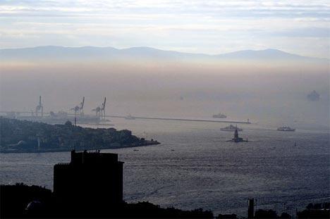 İstanbul'da sis manzaraları 5