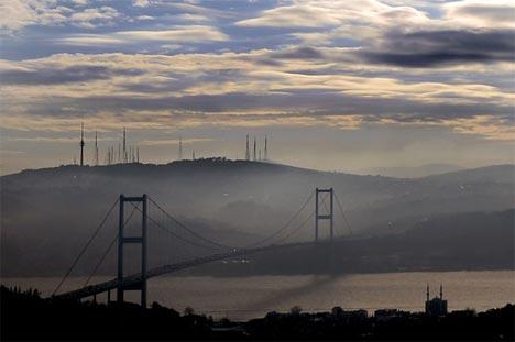 İstanbul'da sis manzaraları 7