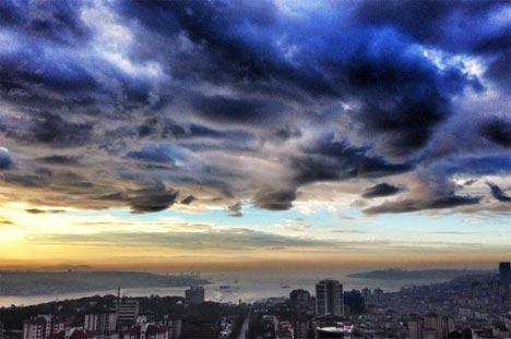 İstanbul'da sis manzaraları 9