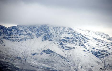 Erek Dağı beyaza büründü 4