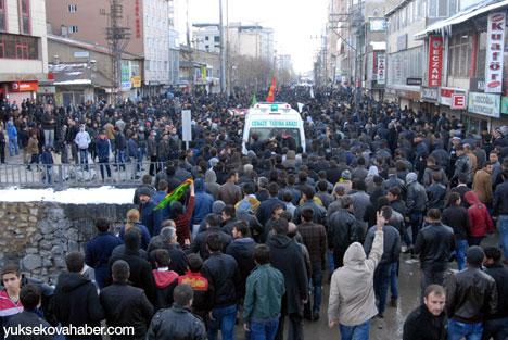 Cenazeler Yüksekova'ya getirildi 15