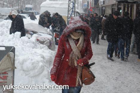 Kar yağışı hayatı olumsuz etkiliyor 1