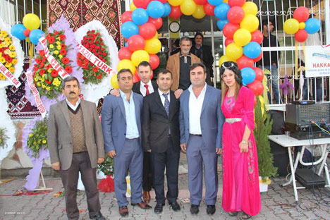 Mersin'de Hakkarililer Derneği'nin açılışı yapıldı 13