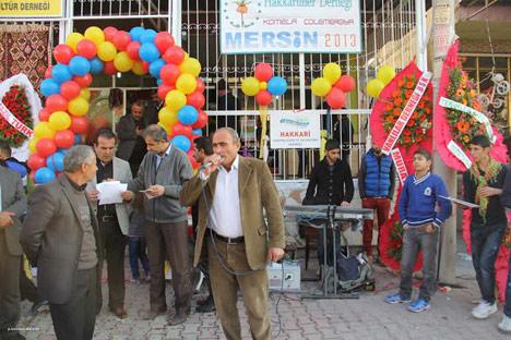 Mersin'de Hakkarililer Derneği'nin açılışı yapıldı 17