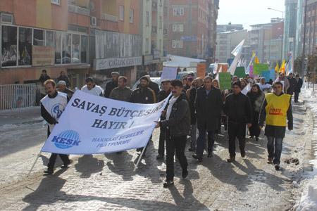KESK Hakkari'de bütçe talepleri için grevde 3