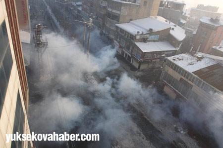 Yüksekova'da polis müdahalesi 5