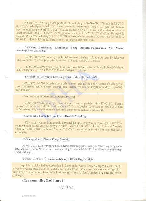 İşte Fırat'ın bu tarafındaki 'vurgun'un belgesi 4