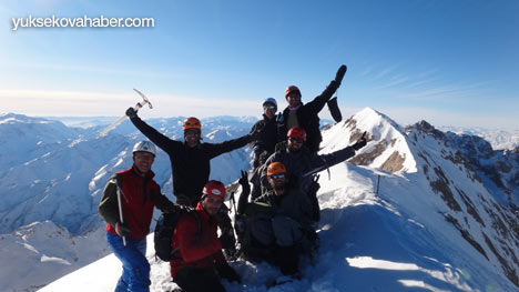 Reşko Dağı'da ilk kez kış tırmanışı 1