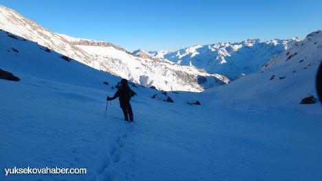 Reşko Dağı'da ilk kez kış tırmanışı 11