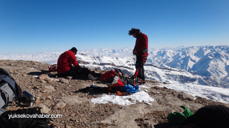 Reşko Dağı'da ilk kez kış tırmanışı 13