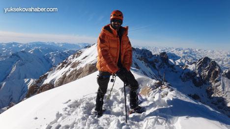 Reşko Dağı'da ilk kez kış tırmanışı 17