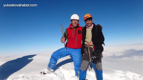 Reşko Dağı'da ilk kez kış tırmanışı 18