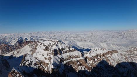 Reşko Dağı'da ilk kez kış tırmanışı 21