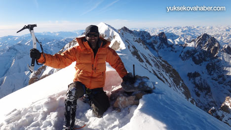 Reşko Dağı'da ilk kez kış tırmanışı 25