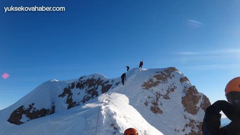 Reşko Dağı'da ilk kez kış tırmanışı 26
