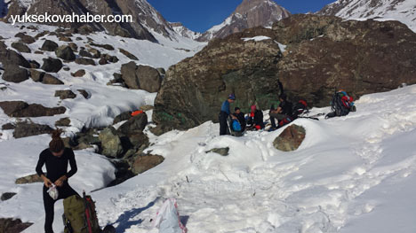 Reşko Dağı'da ilk kez kış tırmanışı 38