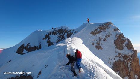 Reşko Dağı'da ilk kez kış tırmanışı 40