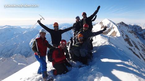 Reşko Dağı'da ilk kez kış tırmanışı 41