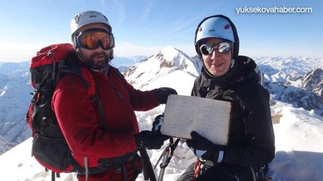 Reşko Dağı'da ilk kez kış tırmanışı 6