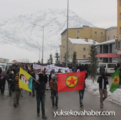 Hakkari'de Roboski için yürüyüş düzenlendi 14