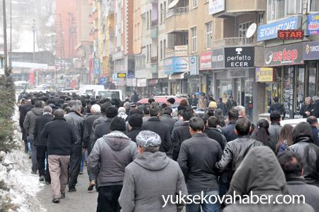 Hakkari'de Roboski için yürüyüş düzenlendi 4