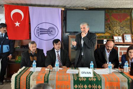 Şemdinli'de  Esnaf odası başkanlığı seçimi yapıldı 13