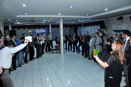 SGK Müdürü Özdemir'in veda gecesi 1