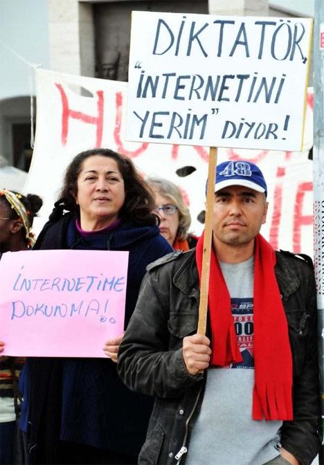 Türkiye 'İnternetime Dokunma' diyor! 12