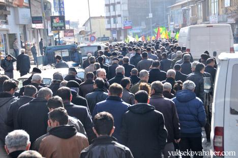 Hakkari'de Cenevre'yi protesto yüryüşü 8
